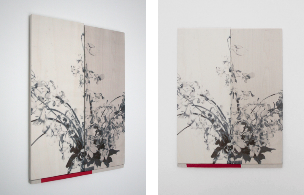 'Bloemen', 37x28cm, 2013